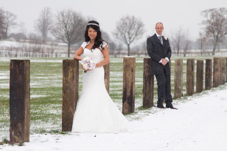 Winter wedding Cumbria